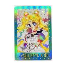 Sailor moon assinatura brinquedos hobbies hobby colecionáveis jogo coleção anime cartões