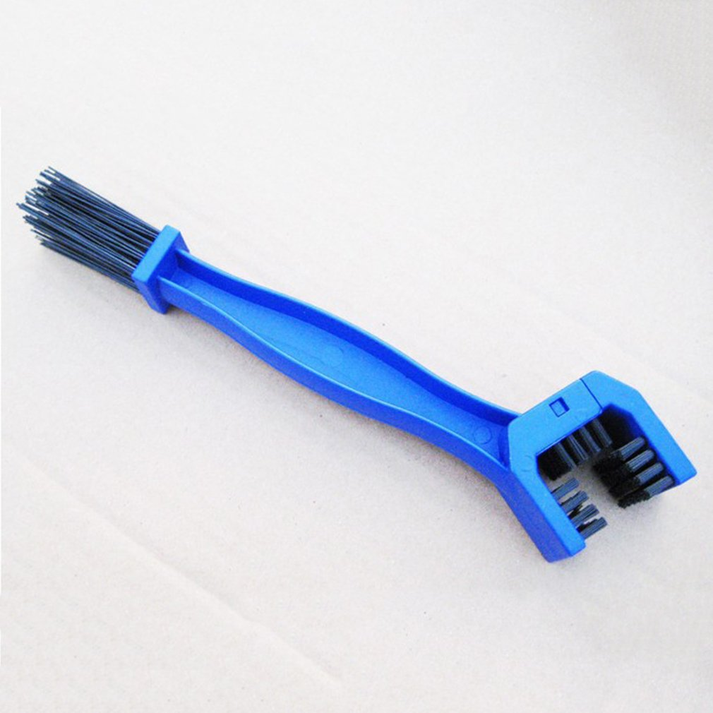 Bicycle Clean Brush 3 Sided Cycling Motorcycle Bicycle Chain Clean Brush Gear Grunge Brush Cleaner Outdoor Cleaner Scrubber Tool