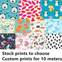 Asenappy new coming printed fabric for baby reusable cloth diaper, BPA free waterproof fabric PUL for baby cloth diaper