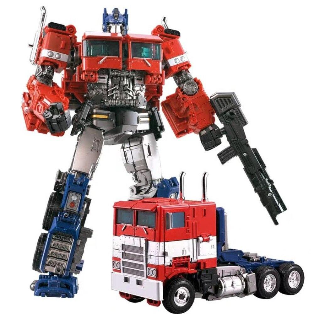 AOYI H6001-4 Transformation Action Figure Toys Dark Op Commander KO Movie Model ABS SS38 G1 Deformation Car Robot Figma For Kids