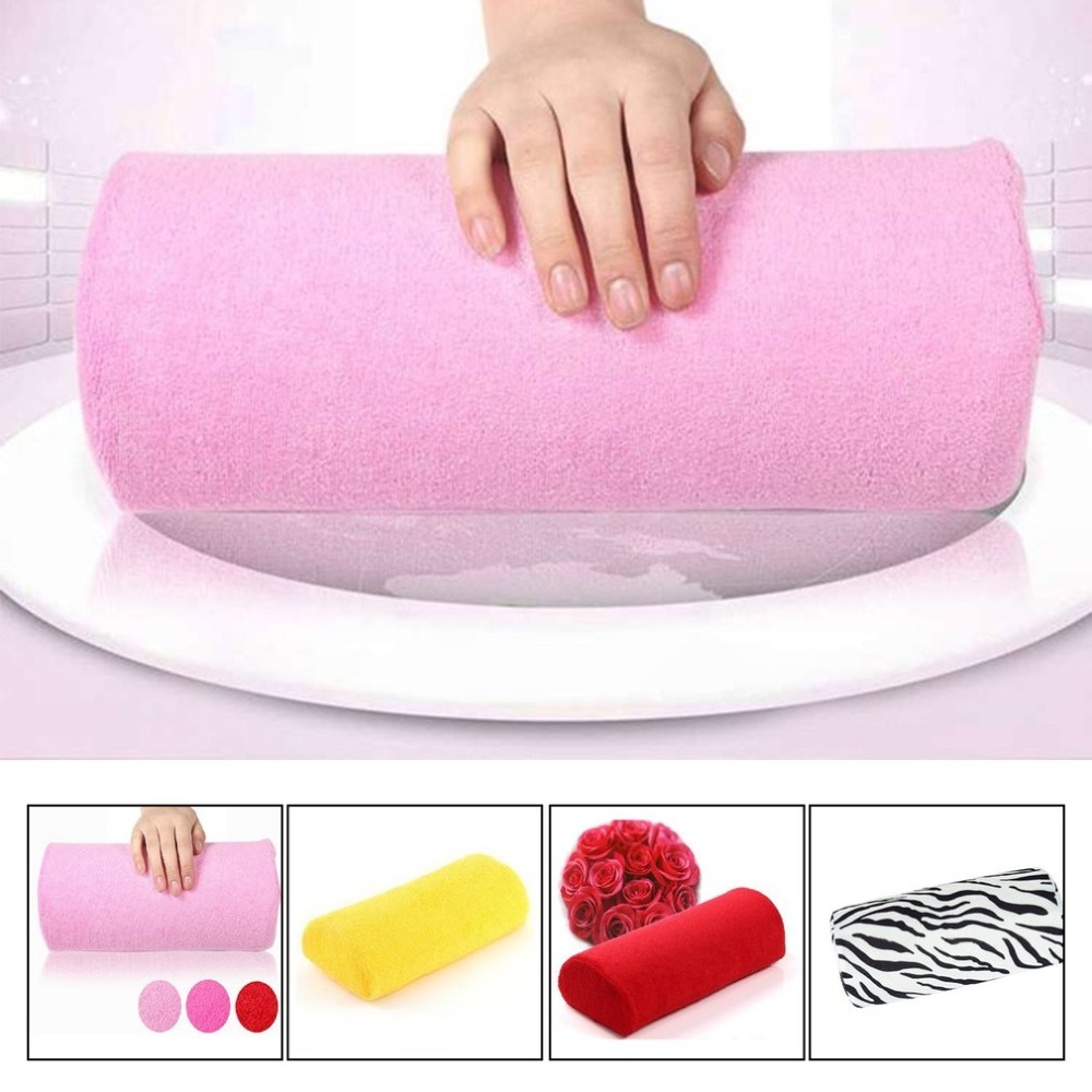Manicure Pillow Hand Rest Holder Pillows Cushion Pillow Nail Arm Towel Tool Armrest Nail Art Manicure Equipment