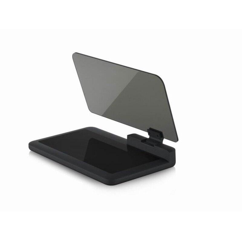 6 inch HD hud display car glass projection hud gps speedometer obd2 head up display Navigation Phone Holder|Head-up Display| |  - title=