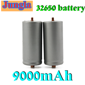 4PCS battery 3.2V 32650 battery 9000mah LiFePO4 rechargeable lithium cell for Electric bike battery pack with screw