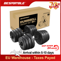 in stock 30kg Dumbbell Weight Set Adjustable Solid Fitness Dumbbell Set Dumbbells Gym Exercise Muscle Training for Drop Shipping