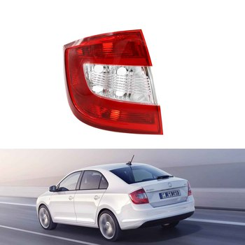 For Skoda Rapid 2013 2014 2015 2016 2017 2018  Tail Lamp Left Side Rear Light Without Wire Board and Bulbs