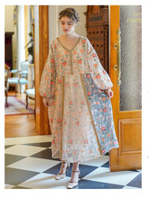 Femmes paillettes robe broderie