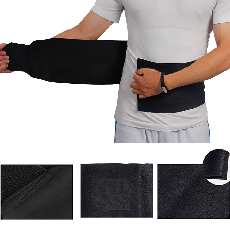 Burner Fat Exercise Slimming Belt Weight Loss Waist Trimmer Adjustable Belly New LX9E