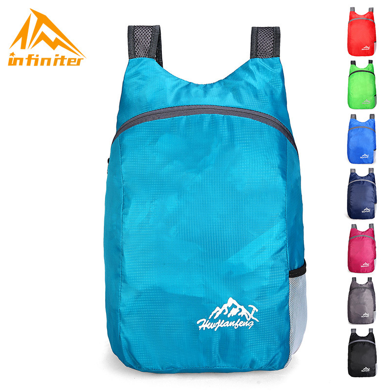 A Generation Of Fat Outdoor Waterproof Folding Bag Multi-functional Casual Sports Backpack Large Capacity Ultra-Light Travel Bac