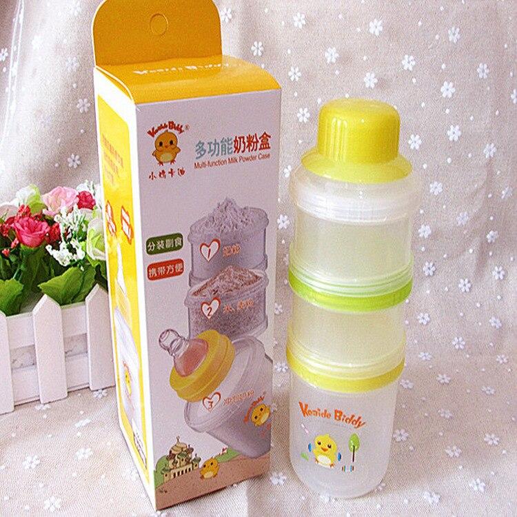 Chick Cady Multi-functional Milk Box Three-layer Milk Powder Boxes Kd3200-Portable Fruit Juice Feeding Bottle