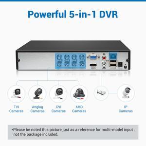 Image 2 - Sannce 8CH 1080 1080p 2.0MP hd cctv システムビデオレコーダー 8 個 1080 1080p cctv セキュリティカメラ防水ナイトビジョン監視キット
