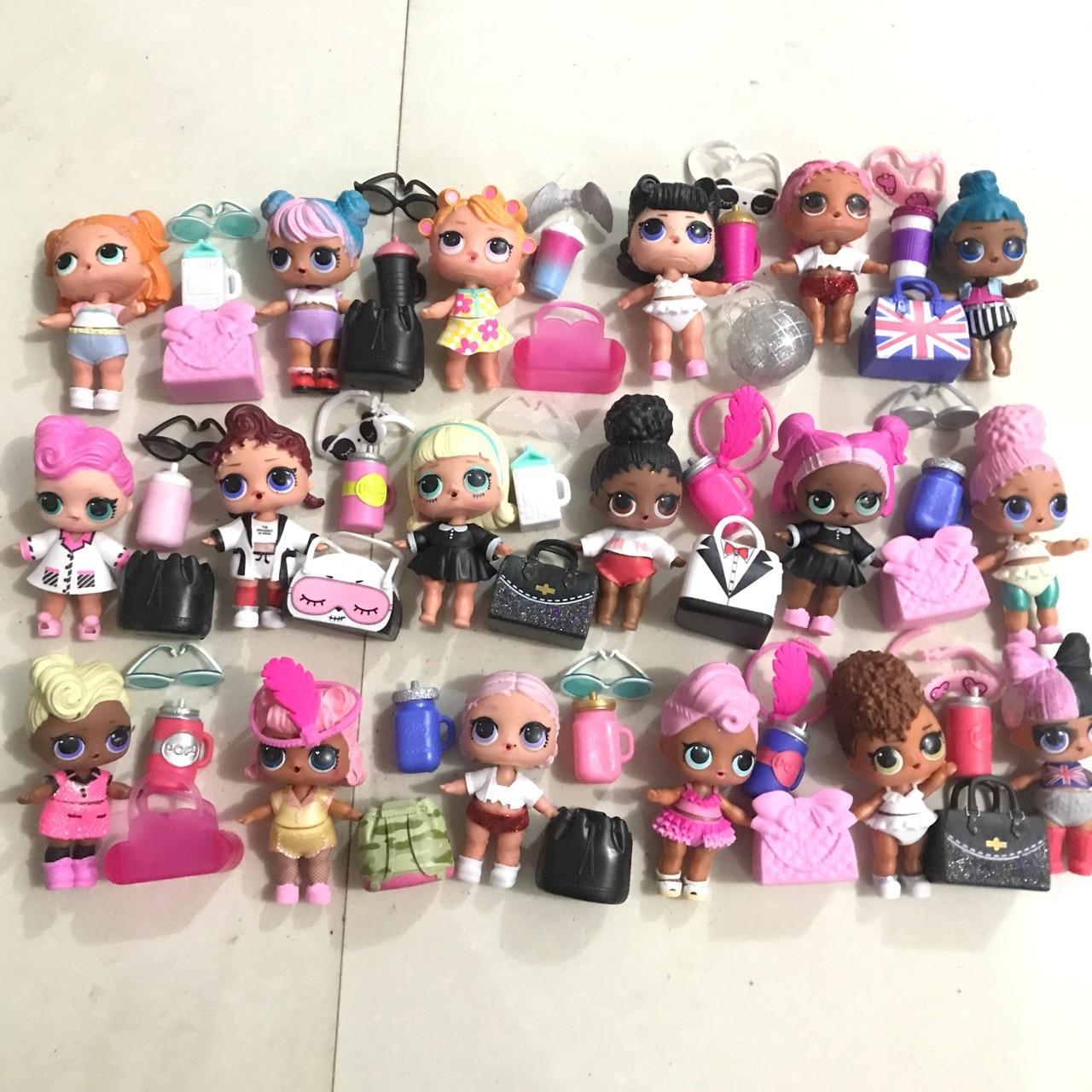 Original LOL Dolls Surprise Bulk Goods Full Set Of Surprise Dolls + Bags Contains Clothes Shoes Bottles Headdresses Bags