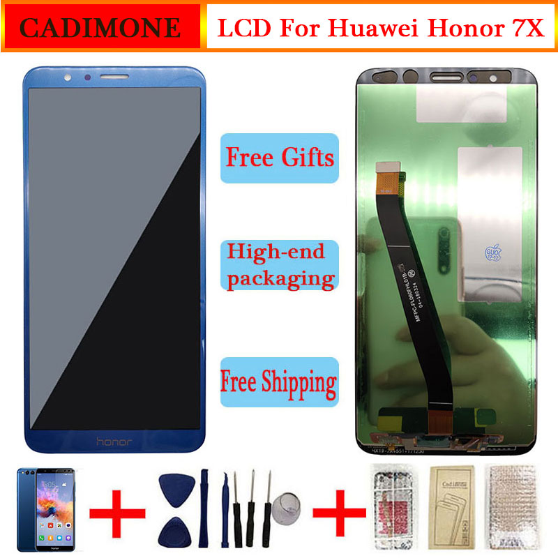 Voor Huawei Honor 7X Lcd-scherm Aaa Kwaliteit Lcd + Frame Touch Screen Vervanging Voor Honor 7X BND-TL10/AL10 /L21 Digiziter Vergadering title=