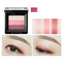 NOVO tri color gradient eye shadow tray