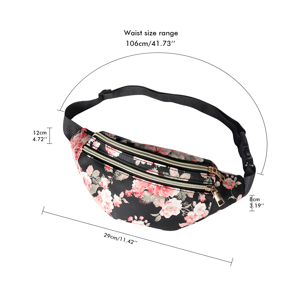 Buylor Belt Bag Cute Fanny Pack Designer Waist Bags Shoulder Crossbody Bag Fashion Bumbag PU Leather Women for Party, Shopping