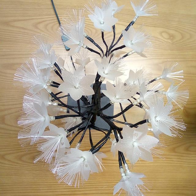 Promotion! LED saule branche lampe à piles Simulation orchidée branche lumineuse Vase remplissage fleur branche fée guirlande lumineuse (E 4