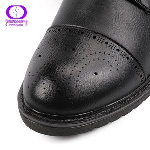 Image 5 - AIMEIGAO Autumn Spring Lace up Ankle Boots Women Shoes Warm Short Plush Zipper Shoes Female Comfortable Low Heels Women Shoes