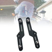 NC750S 2012 2019 Windscreen Adjusters Motorcycle CNC Windshield Bracket fits for HONDA NC700S NC 700S Motorcycle Accessories