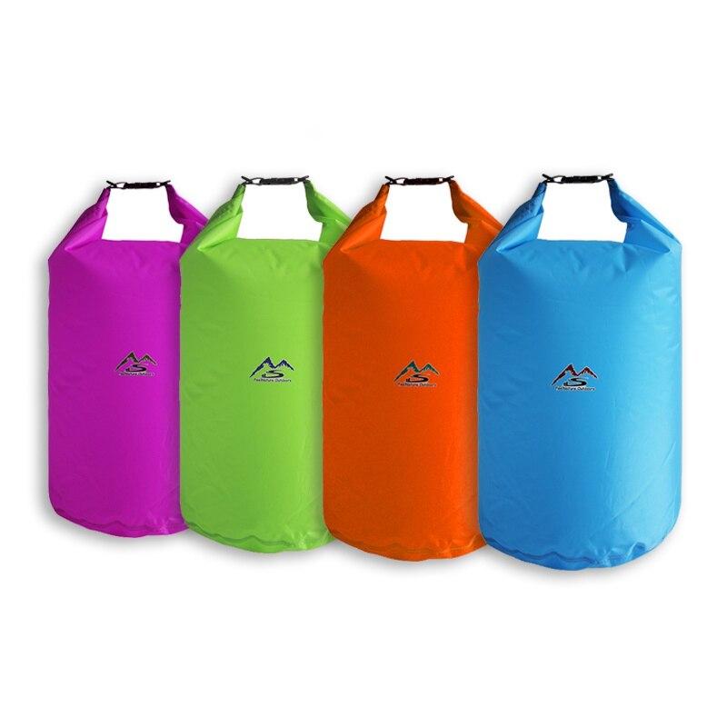 Outdoor Swimming Waterproof Bags 5L/10L/20L/40L/70L Dry Bag Sack Waterproof Floating Dry Gear Bags For Boating Fishing Rafting