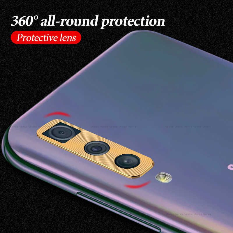 מצלמה עדשת מגן טבעת מקרה לסמסונג גלקסי A50 A30 2019 מתכת עדשת כיסוי על A50 A 30 50 A505 a505F SM-A505F טבעת פגוש
