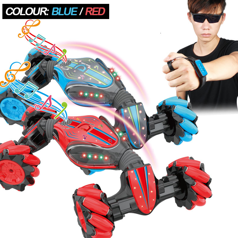 NEW RC CAR One-click Deformation Climbing Off-road Vehicle Twisted Cars For Child RC Electric Model Toy For Kids Gift