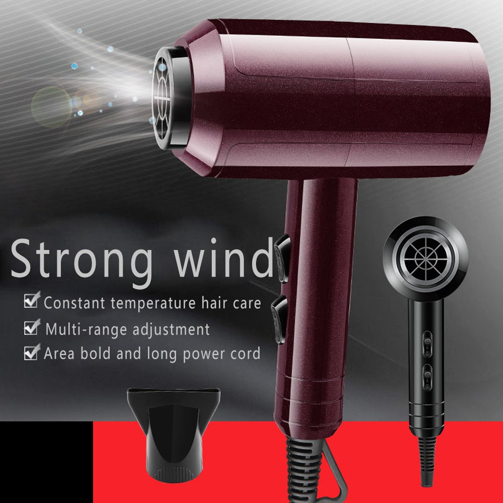 Anion Hair Dryer Aluminum Alloy Body 2000W Dryer Hair Dual-layer Anti-heat Innovative Design Do Not Hurt Hair Molding Machine