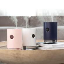 Home Humidifier 1L 3000 Mah Portable Wireless Usb Aroma Water Mist Diffuser Battery Life Show Aromatherapy Humidificador(China)
