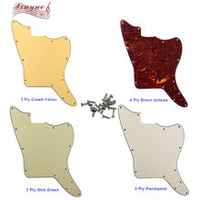 Pickguard Blank Jazzmaster Guitar Screw-Holes Pleroo for with Fixed Scratch-Plate-Replacement