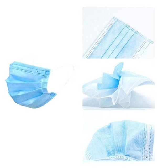 Anti-dust Professional Mask 50Pcs PM2.5 Disposable Elastic Mouth Soft Breathable Face Mask