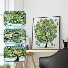 5Д поделки Алмазная вышивка Весна Лето Осень Зима сезонный цветок, дерево, фигуру специальная картина стразами