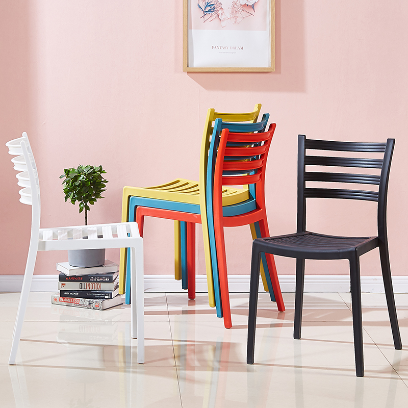 Nordic Plastic Dining Chair Modern Formal Dinning Chairs for Dining Rooms Minimalist Kitchen Home Furniture Chair Cafe Chairs