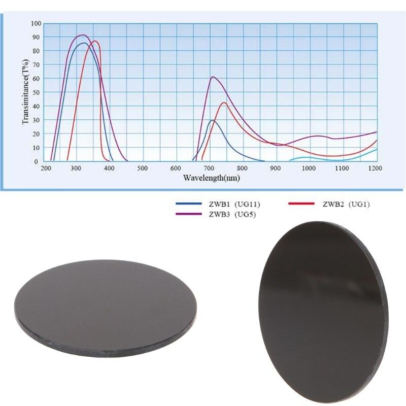 Ultravioleta da Cor da Espessura 1.9mm do Diâmetro 42mm do Filtro uv