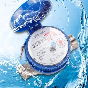 J2FB 0-30 ℃ miernik zimnej wody mechaniczne obrotowe skrzydło E-TYPE 1 2 #8221 #8211 3 4 #8243 Qn 1 5m 3 h precyzja 0 0001m3 całkowicie miedziany złącze tanie i dobre opinie OOTDTY NONE hydrauliczny CN (pochodzenie) J2FB9FF101271