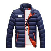 Winter Jacket Men 2019 Fashion Stand Collar Male Parka Jacket