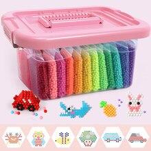 Bricolage perles d'eau ensemble jouets pour enfants Montessori éducation cerveau boîte magique enfants jouets faits à la main pour bébé filles garçons 3 5 7 8 ans