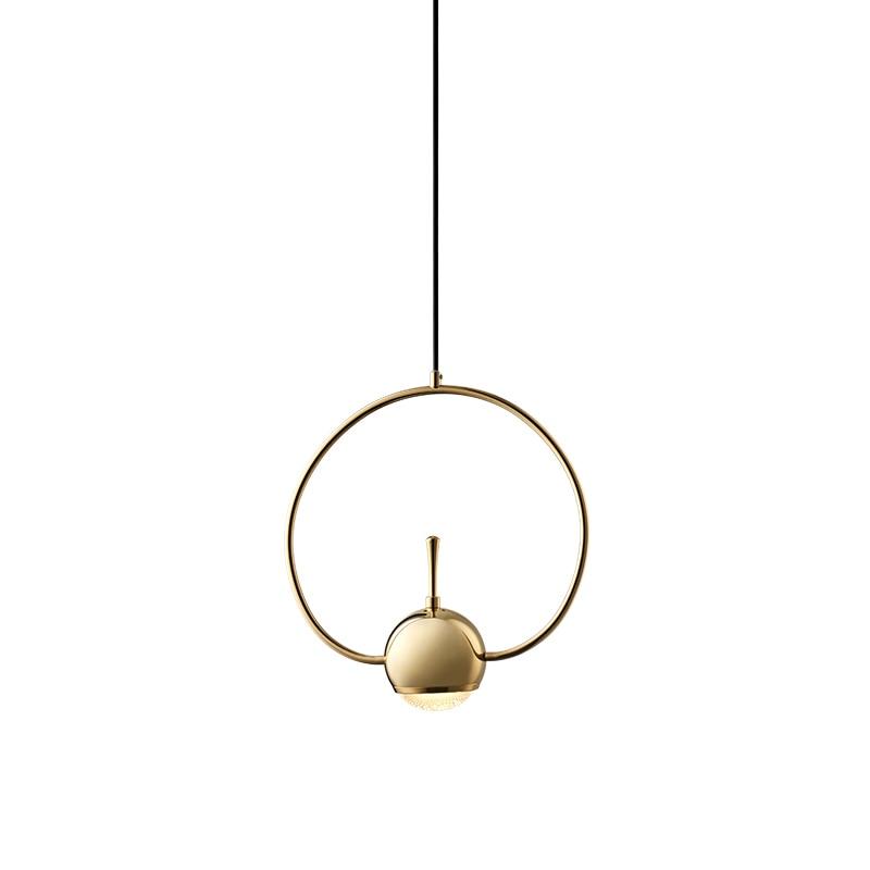 Moderne Nordic Wohnzimmer Kreative Kronleuchter Persönlichkeit Kunst Schmiedeeisen Kronleuchter Led Geometrische Form Linie Lichter - 5