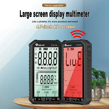 ET8134 multimetro digitale 4.7 pollici LCD DC/AC corrente misurazione della tensione capacità resistenza misurazione VS ANENG 620A Multime