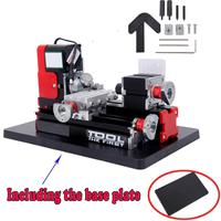 24W Metal Mini Motorized Lathe DIY Machine Milling Machine Woodworking