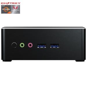 Chatreey AN1 AMD Ryzen R5 Мини ПК с Vega 8 Graphic 4K UHD DP HDMI Настольный игровой компьютер Nvme ssd