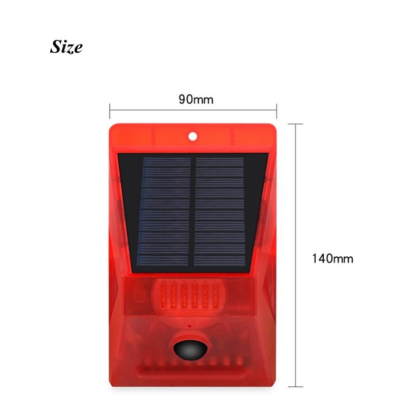 Solar Alarm Lamp 4
