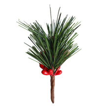 Christmas Artificial Pine Needles For Holiday Floral Decor Flower Crafts Tree Decorations