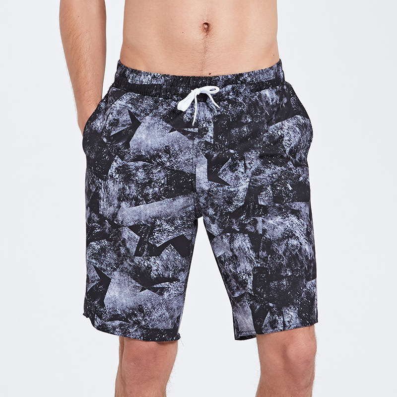 Sbart MEN'S Beach Pants Seaside Holiday Loose-Fit Large Trunks BOY'S Summer Casual Pants Sweat-wicking Swimming Trunks