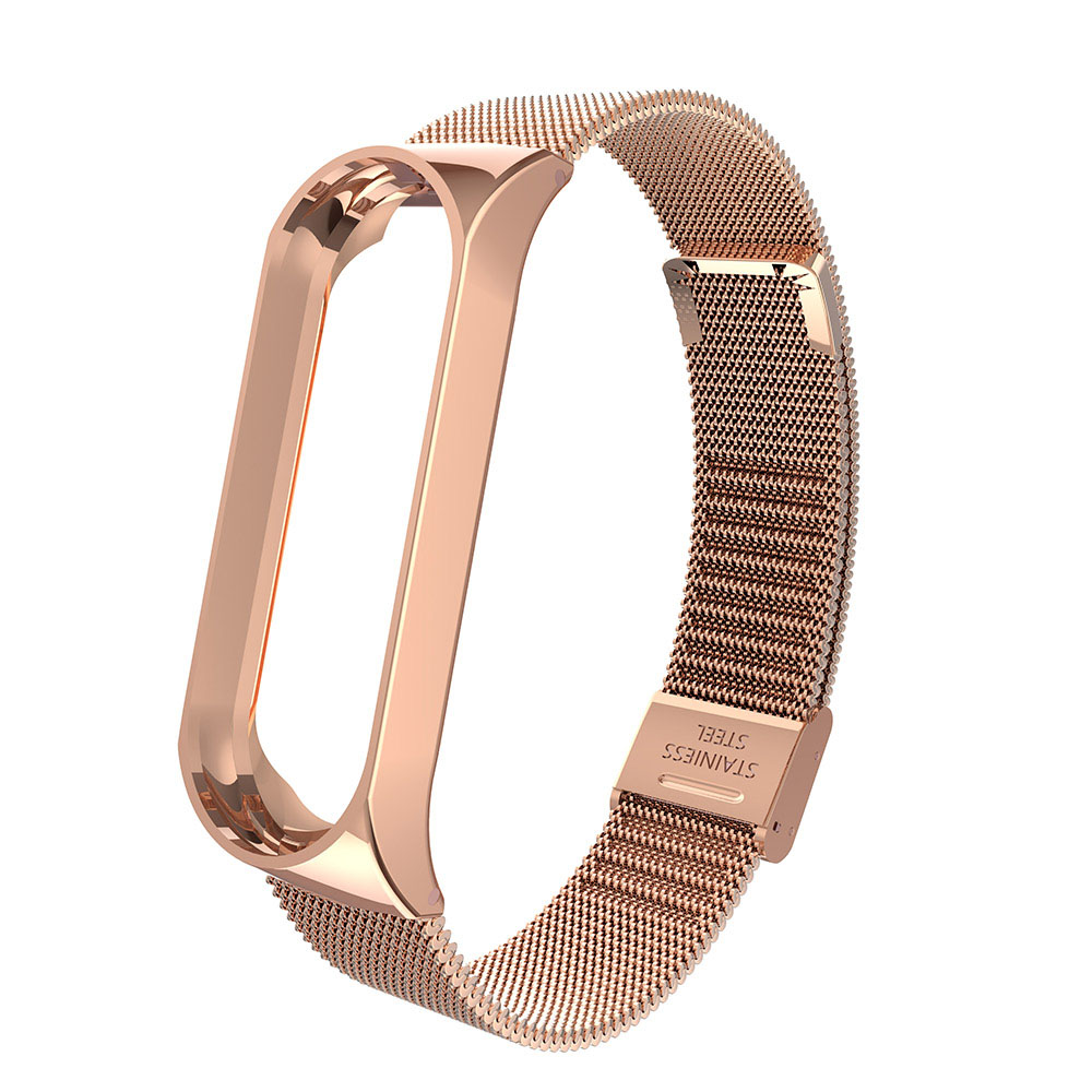 Metal Stainless Steel Strap For Mi Band 4 Wrist Strap For  Miband 4 3 Bracelet For Mi Band 4 3