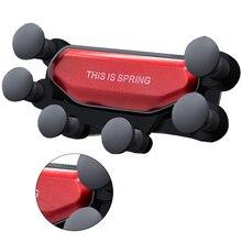 цена на Automatic Mount Car Mobile phone holder Gravity telescopic car bracket Universal Car Phone Holder