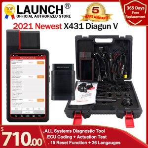 Image 1 - Launch X431 Diagun V 2 년 무료 온라인 업데이트 X 431 Diagun iv Diagun iii 자동 obd2 진단 도구보다 낫습니다.