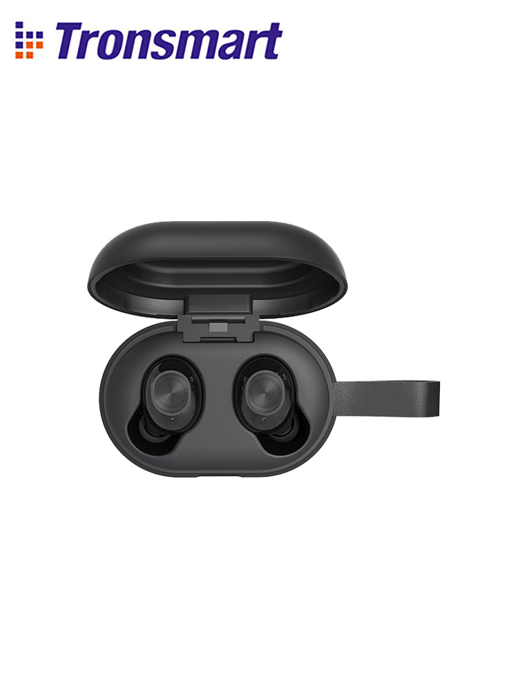 Tronsmart Spunky Beat Bluetooth TWS Earphone APTX Wireless Earbuds with QualcommChip CVC 8 0 Touch Control