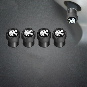 4 шт. колпачок клапана для автомобильных шин наклейка колпачок пылезащитный колпачок для шины для peugeot 206 308 307 207 208 3008 407 508 2008 RCZ автомобильные ...