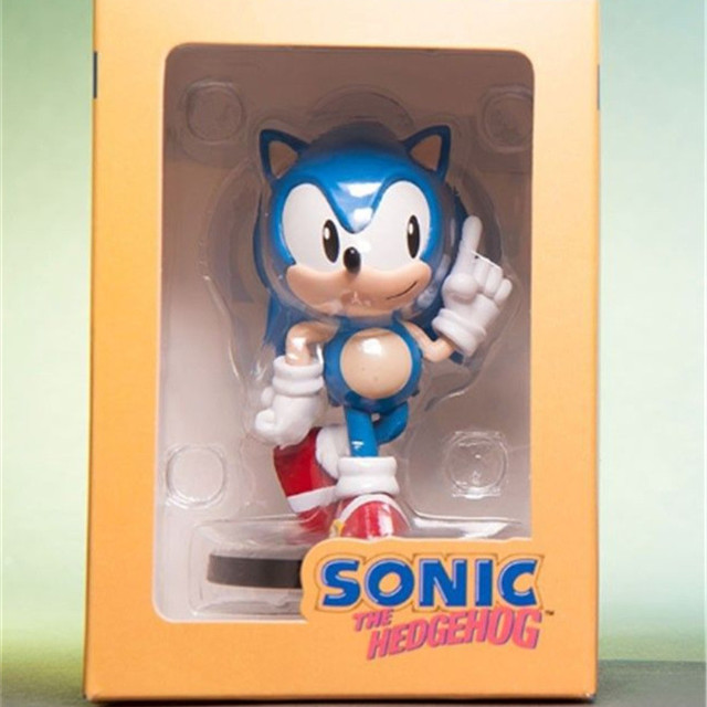 Sonic The Hedgehog Anime Figure Cute Toys Pvc Model 75mm Decor Home Action Figurine Brinquedos Sonic Doll For Kids Gift Juguetes Action Toy Figures Aliexpress