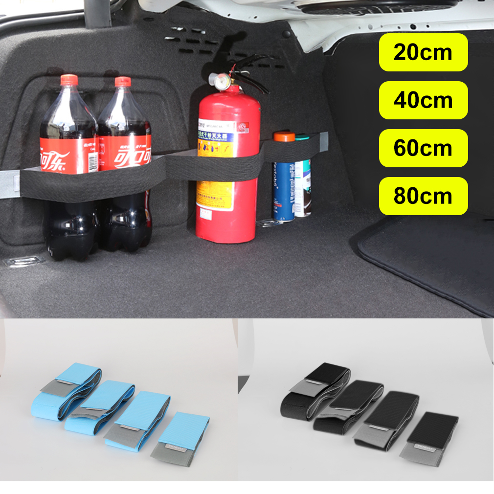 Car Organizer Belt Practical Car Trunk Fixed Storage Tape Belt Stowing Tidying Sticky Supplies Auto Interior Accessories