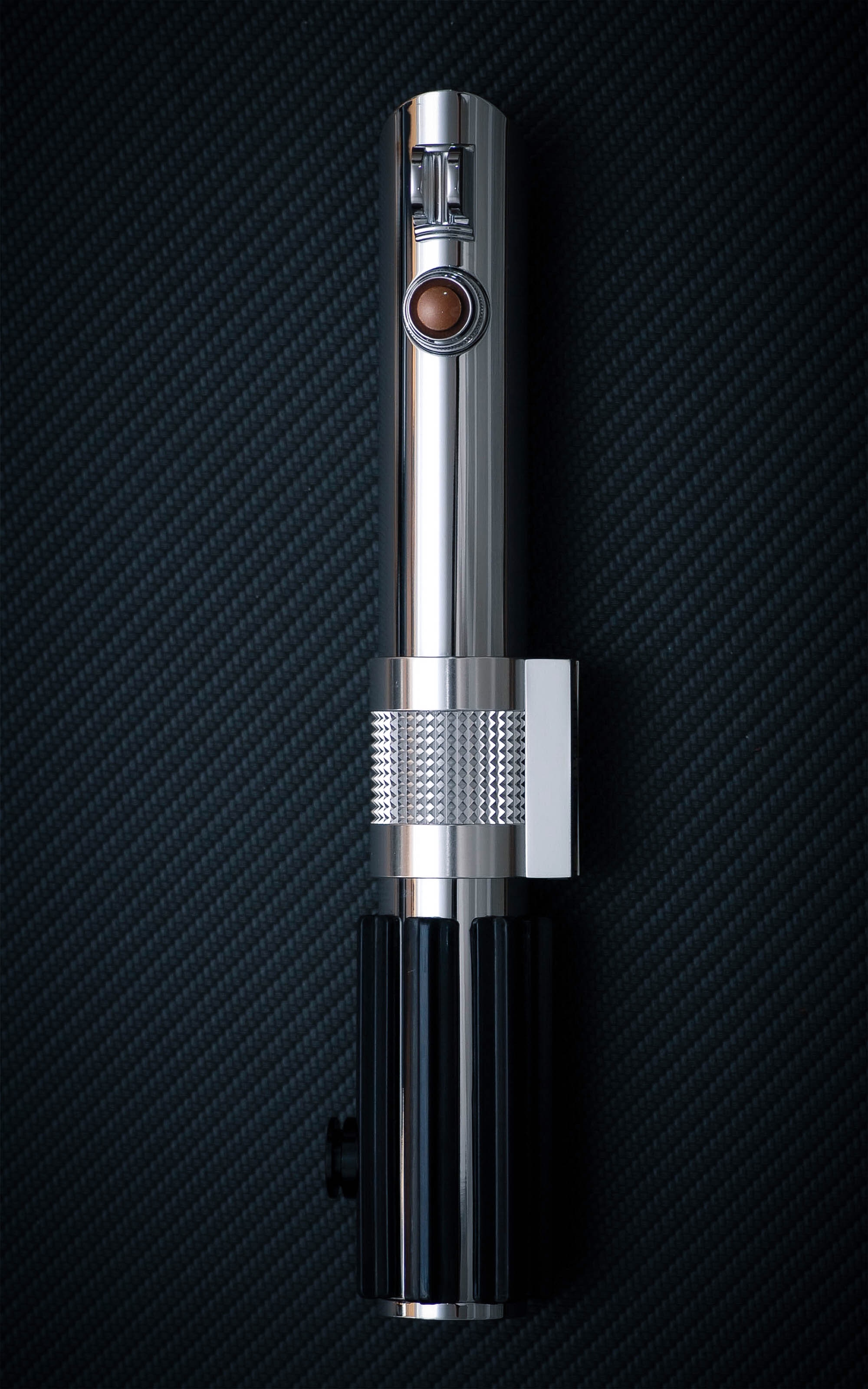 TXQsaber Anakin Skywalker Handle RGB Lightsaber Neopixel Blade Heavy Dueling Proffie2.2 Soundboard from Star Wars-Only Handle 1