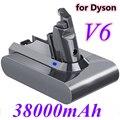Литий-ионный аккумулятор 2021 38000 мАч 21,6 в 965874 Ач для пылесоса Dyson V6 DC58 DC59 DC61 DC62 DC74 SV09 SV07 SV03-02